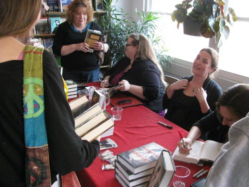 YA Signing with Beth Revis, Carrie Ryan and Megen Shepherd