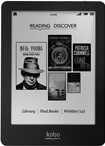 Kobo Glo - eInk eReader with backlight (Black)