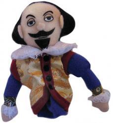 The Bard - Finger Puppet